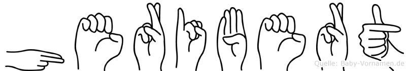 Heribert in Fingersprache für Gehörlose