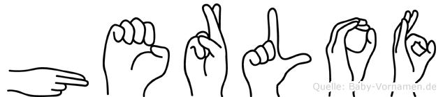 Herlof in Fingersprache für Gehörlose