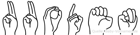 Uuoden in Fingersprache für Gehörlose