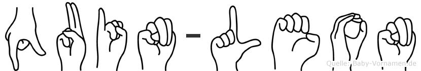 Quin-Leon im Fingeralphabet der Deutschen Gebärdensprache
