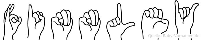 Finnley in Fingersprache für Gehörlose