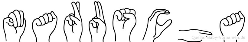 Maruscha in Fingersprache für Gehörlose