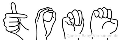 Tone im Fingeralphabet der Deutschen Gebärdensprache