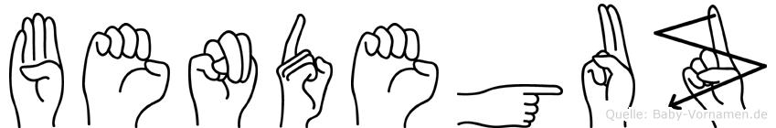 Bendeguz in Fingersprache für Gehörlose