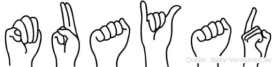 Muayad in Fingersprache für Gehörlose