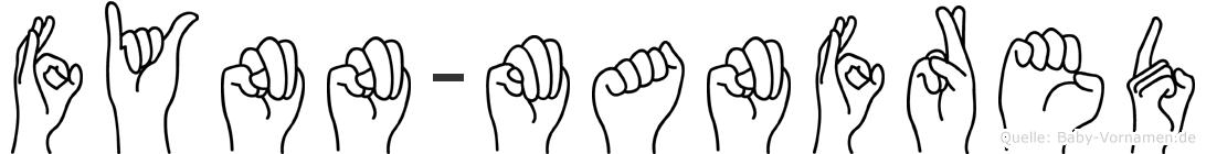 Fynn-Manfred im Fingeralphabet der Deutschen Gebärdensprache