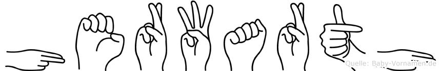 Herwarth in Fingersprache für Gehörlose