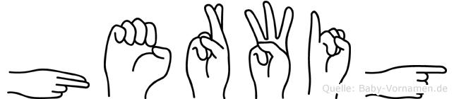 Herwig in Fingersprache für Gehörlose