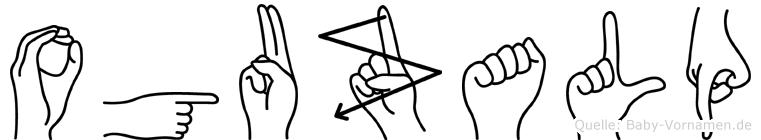 Oguzalp in Fingersprache für Gehörlose