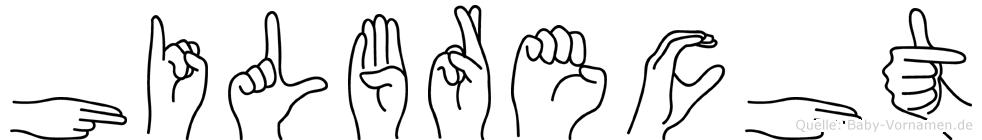 Hilbrecht in Fingersprache für Gehörlose