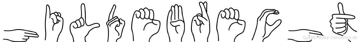 Hildebrecht in Fingersprache für Gehörlose