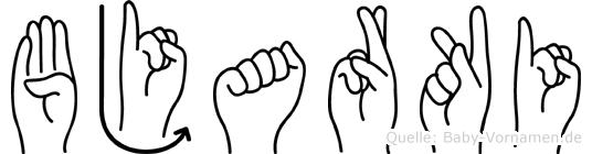 Bjarki in Fingersprache für Gehörlose