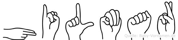 Hilmar in Fingersprache für Gehörlose
