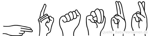 Hüdanur in Fingersprache für Gehörlose