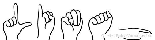 Linah in Fingersprache für Gehörlose