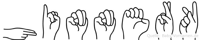 Hinnerk in Fingersprache für Gehörlose