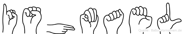 Ishmael in Fingersprache für Gehörlose