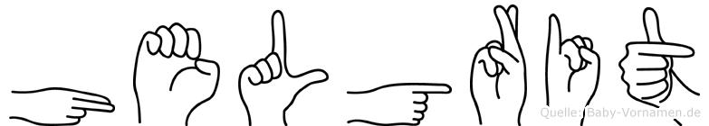 Helgrit in Fingersprache für Gehörlose