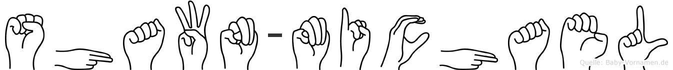 Shawn-Michael im Fingeralphabet der Deutschen Gebärdensprache
