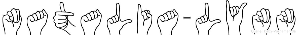 Natalia-Lynn im Fingeralphabet der Deutschen Gebärdensprache