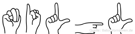 Nilgül im Fingeralphabet der Deutschen Gebärdensprache