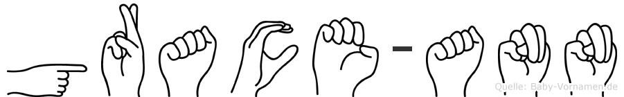 Grace-Ann im Fingeralphabet der Deutschen Gebärdensprache