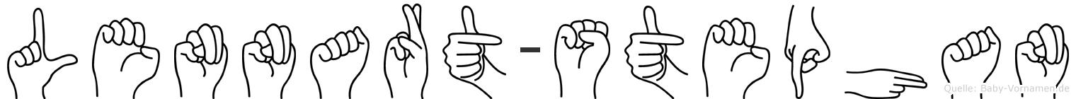 Lennart-Stephan im Fingeralphabet der Deutschen Gebärdensprache