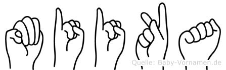 Miika in Fingersprache für Gehörlose