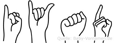 Iyad in Fingersprache für Gehörlose