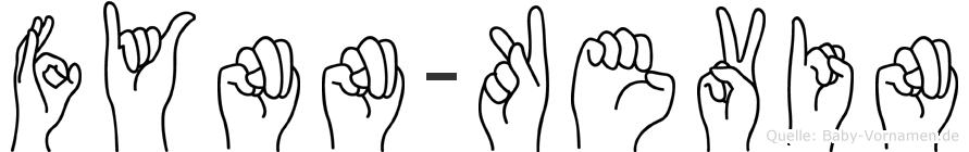 Fynn-Kevin im Fingeralphabet der Deutschen Gebärdensprache