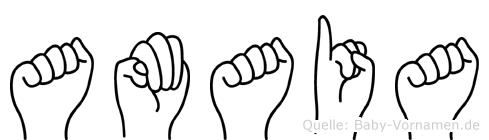 Amaia in Fingersprache für Gehörlose