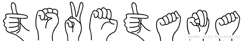 Tsvetana in Fingersprache für Gehörlose