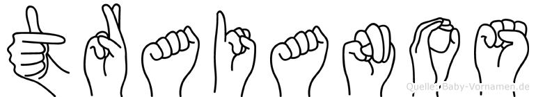 Traianos in Fingersprache für Gehörlose