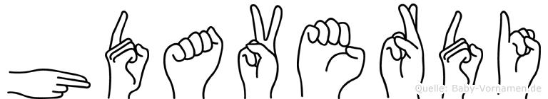 Hüdaverdi in Fingersprache für Gehörlose