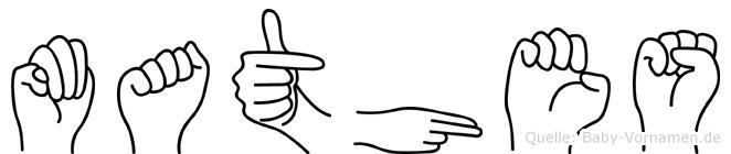 Mathes in Fingersprache für Gehörlose