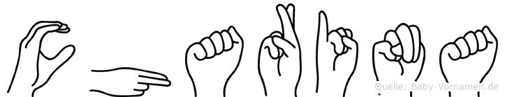 Charina in Fingersprache für Gehörlose