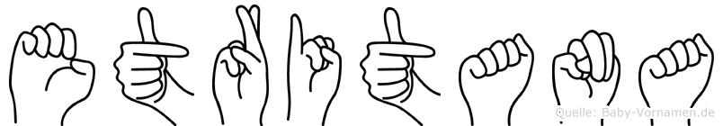 Etritana in Fingersprache für Gehörlose