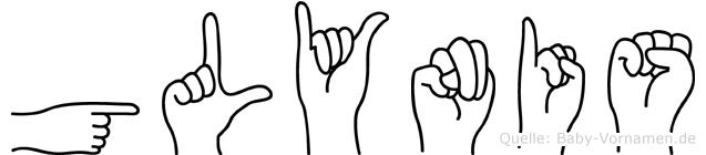 Glynis in Fingersprache für Gehörlose