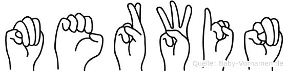 Merwin in Fingersprache für Gehörlose