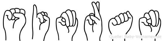 Simran in Fingersprache für Gehörlose