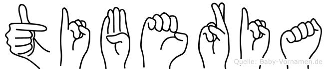 Tiberia in Fingersprache für Gehörlose