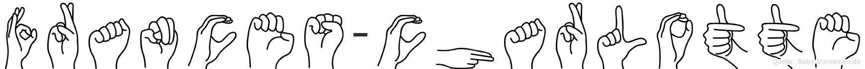 Frances-Charlotte im Fingeralphabet der Deutschen Gebärdensprache