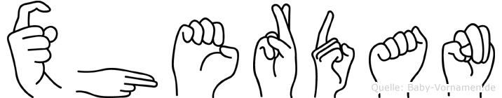 Xherdan in Fingersprache für Gehörlose