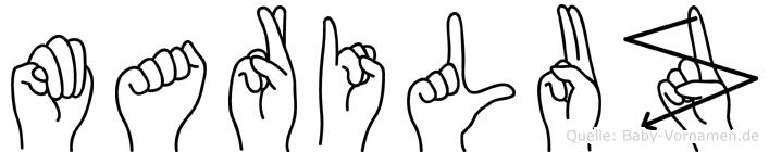 Mariluz in Fingersprache für Gehörlose