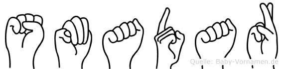 Smadar in Fingersprache für Gehörlose
