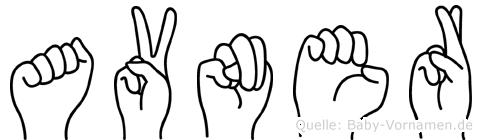 Avner im Fingeralphabet der Deutschen Gebärdensprache