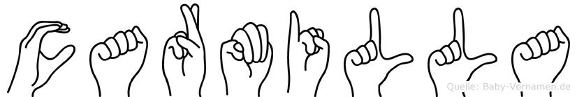 Carmilla in Fingersprache für Gehörlose