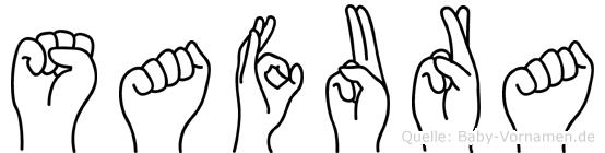 Safura in Fingersprache für Gehörlose