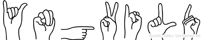 Yngvild in Fingersprache für Gehörlose