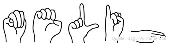 Melih in Fingersprache für Gehörlose